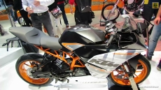 2014 KTM RC 390 at 2013 EICMA Milan Motorcycle Exhibition