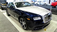 2014 Rolls-Royce Wraith at 2014 Chicago Auto Show