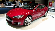 2014 Tesla Model S at 2013 Frankfurt Motor Show