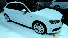 2015 Audi A3 TDI Sportback at 2014 New York Auto Show