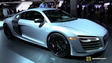 2015 Audi R8 V10 Competition at 2014 Los Angeles Auto Show
