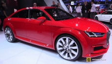 2015 Audi TT Sportback at 2014 Paris Auto Show