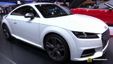 2015 Audi TTS at 2014 Paris Auto Show