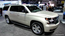 2015 Chevrolet Suburban LTZ at 2013 Los Angeles Auto Show