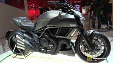 2015 Ducati Diavel Titanium at 2014 EICMA Milan Motorcycle Exhibition