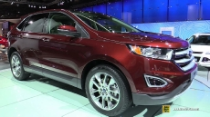 2015 Ford Edge at 2014 Paris Auto Show