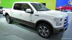 2015 Ford F150 King Ranch at 2014 Detroit Auto Show