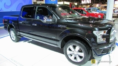 2015 Ford F150 Platinum at 2014 Chicago Auto Show