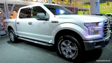 2015 Ford F150 XLT at 2014 Detroit Auto Show