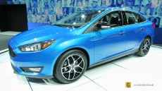 2015 Ford Focus Sedan at 2014 New York Auto Show
