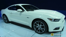 2015 Ford Mustang GT 50th Limited Edition at 2014 New York Auto Show