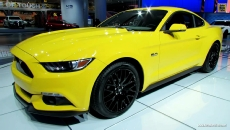 2015 Ford Mustang GT at 2014 Detroit Auto Show