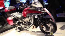 2015 Honda Crossrunner Travel Edition at 2014 EICMA Milan Motorcycle Exhibition