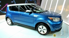 2015 KIA Soul Electric Vehicle at 2014 Chicago Auto Show