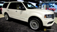 2015 Lincoln Navigator at 2014 Chicago Auto Show