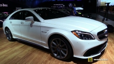 2015 Mercedes-Benz CLS63 AMG at 2014 Los Angeles Auto Show