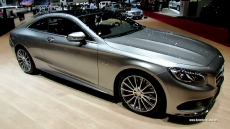 2015 Mercedes-Benz S-Class Coupe S500 4Matic at 2014 Geneva Motor Show