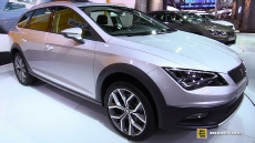 2015 Seat Leon x-Perience at 2014 Paris Auto Show