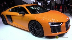 2016 Audi R8 V10 Plus at 2015 Geneva Motor Show