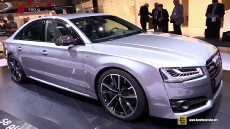 2016 Audi S8 Plus at 2015 Frankfurt Motor Show