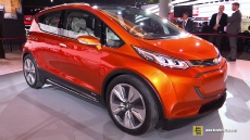 Chevrolet Bolt Concept Electric Vehicle  at 2015 Detroit Auto Show