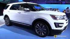 2016 Ford Explorer Platinum at 2014 Los Angeles Auto Show