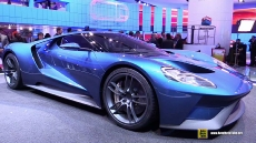 2016 Ford GT at 2015 Detroit Auto Show