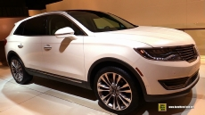 2016 Lincoln MKX EcoBoost at 2015 Detroit Auto Show