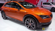 2016 Seat Leon Cross Sport at 2015 Frankfurt Motor Show