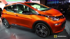 2017 Chevrolet Bolt EV at 2016 Detroit Auto Show