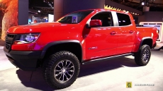 2017 Chevrolet Colorado ZR2 at 2017 Detroit Auto Show