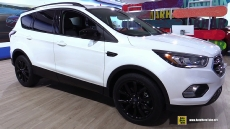 2017 Ford Escape at 2016 Detroit Auto Show