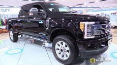 2017 Ford F250 Super Duty at 2016 Detroit Auto Show