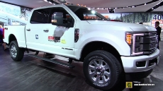 2017 Ford F350 Super Duty Platinum at 2017 Detroit Auto Show