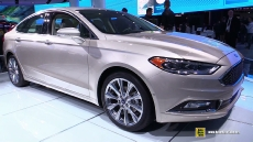 2017 Ford Fusion at 2016 Detroit Auto Show