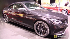 2017 Mercedes AMG C43 4matic Coupe at 2016 Geneva Motor Show