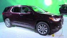 2018 Chevrolet Traverse at 2017 Detroit Auto Show