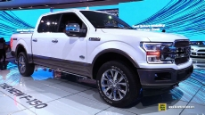 2018 Ford F150 King Ranch at 2017 Detroit Auto Show