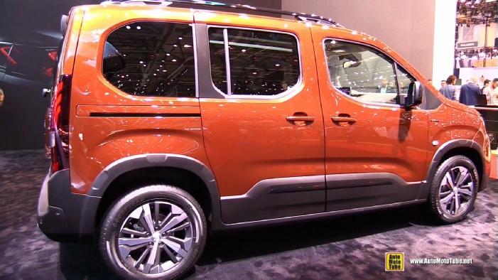 Los Angeles Auto Show 2017 >> 2019 Peugeot Rifter at 2018 Geneva Motor Show